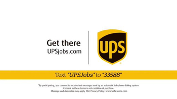 UPS Jobs TV Spot, 'Seasonal Work for the Holidays' - Thumbnail 10