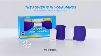 Aleve Direct Therapy TV Spot, 'Lower Back Pain Relief' - Thumbnail 5