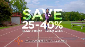 Tommie Copper Black Friday and Cyber Week TV Spot, 'Wearable Wellness'