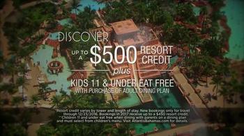 Atlantis TV Spot, 'Holidays: Expand Imaginations' - Thumbnail 5