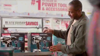The Home Depot Black Friday Savings TV Spot, 'Husky Tool Set' - Thumbnail 3