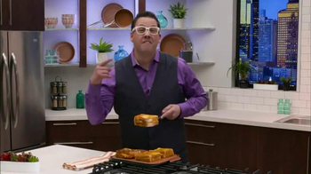Gotham Steel Double Grill TV Spot, 'No Sticking' Featuring Graham Elliot - Thumbnail 5