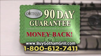 Gotham Steel Double Grill TV Spot, 'No Sticking' Featuring Graham Elliot - Thumbnail 9
