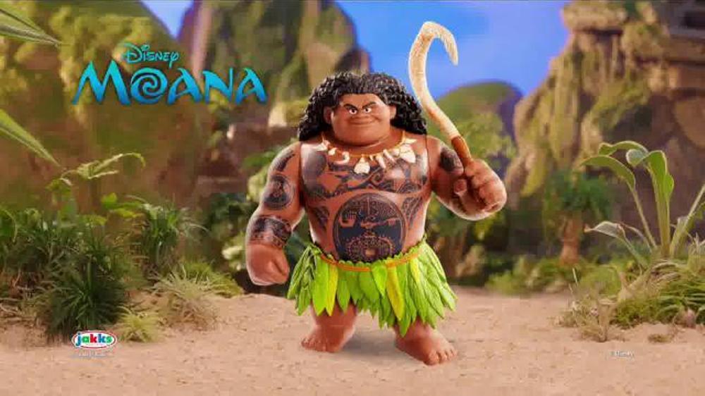 Disney Moana Mega Maui Figure TV Commercial, 'Get Hooked' - Video