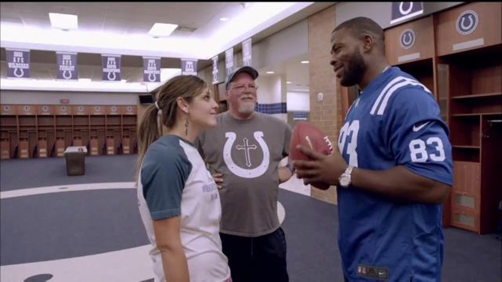 NFL TV Commercial, 'Football Families: Thanksgiving Colts Game' Ft. Dwayne Allen