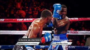 Time Warner Cable TV Spot, 'Boxing: Crawford vs. Postol' [Spanish]
