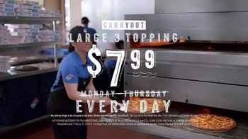 Domino's TV Spot, 'Pizza Payback' - Thumbnail 7