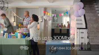 Time Warner Cable Internet TV Spot, 'Birthday Girl' - Thumbnail 2
