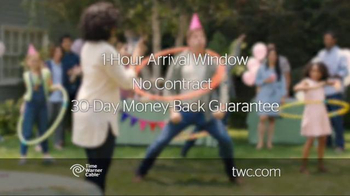 Time Warner Cable Internet TV Spot, 'Birthday Girl' - Thumbnail 5