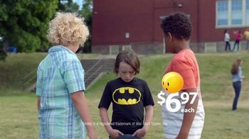 Walmart TV Spot, 'Back to School: I'm Batman' Song by Fitz and the Tantrums - 1351 commercial airings