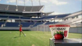 Chobani Strawberry on the Bottom TV Spot, 'Alex Morgan's #NoBadStuff Fuel' - Thumbnail 1
