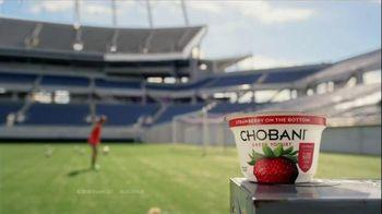 Chobani Strawberry on the Bottom TV Spot, 'Alex Morgan's #NoBadStuff Fuel' - Thumbnail 2