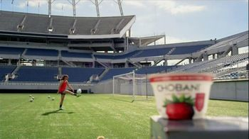 Chobani Strawberry on the Bottom TV Spot, 'Alex Morgan's #NoBadStuff Fuel' - 310 commercial airings