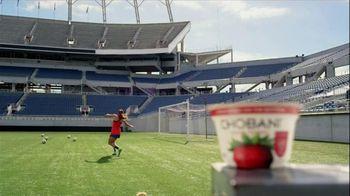 Chobani Strawberry on the Bottom TV Spot, 'Alex Morgan's #NoBadStuff Fuel' - Thumbnail 4