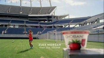 Chobani Strawberry on the Bottom TV Spot, 'Alex Morgan's #NoBadStuff Fuel' - Thumbnail 5