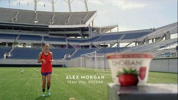 Chobani Strawberry on the Bottom TV Spot, 'Alex Morgan's #NoBadStuff Fuel' - Thumbnail 6