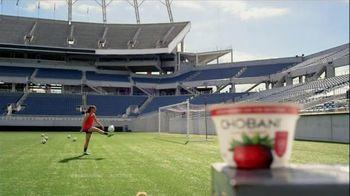 Chobani Strawberry on the Bottom TV Spot, 'Alex Morgan's #NoBadStuff Fuel'