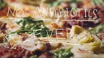 Papa Murphy's Chicken Bacon Artichoke Pizza TV Spot, 'No Antibiotics' - 293 commercial airings