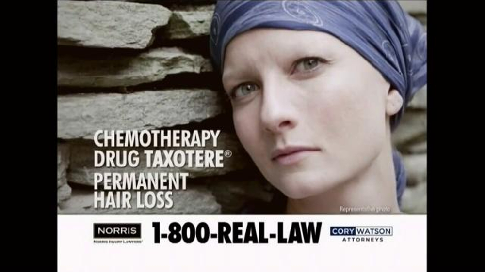 Pulaski Law Firm >> Norris Injury Lawyers TV Commercial, 'Taxotere Hair Loss' - iSpot.tv