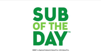 Subway TV Spot, 'Sub of the Day' - Thumbnail 9