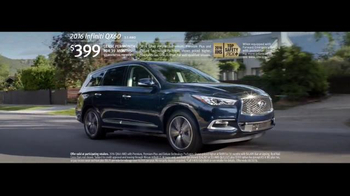 2016 Infiniti QX60 TV Spot, 'Insight: New Offer' Song by The Black Keys