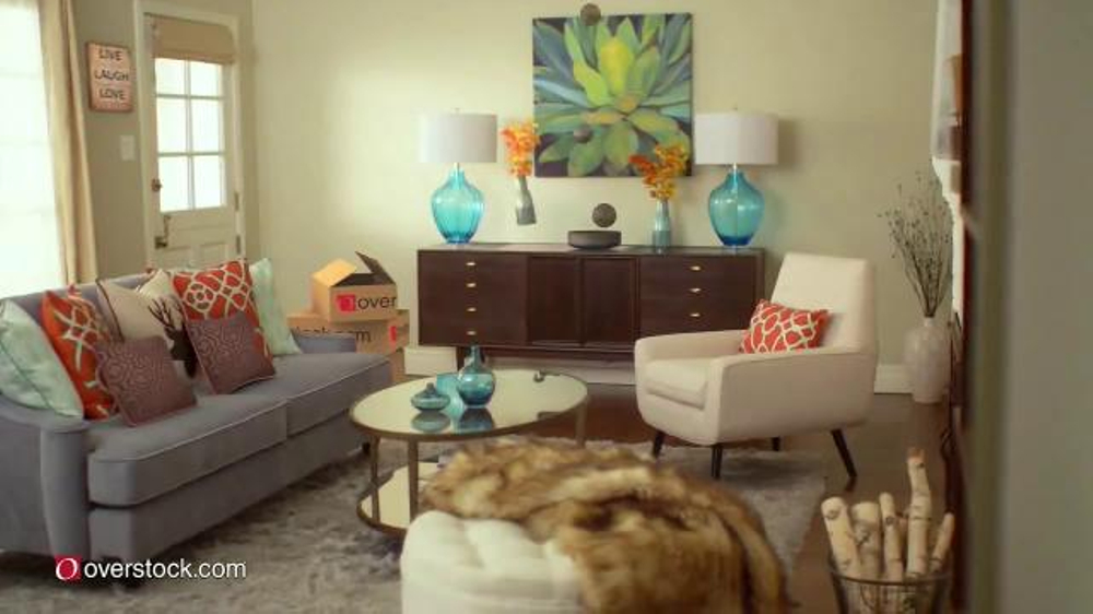 Overstock.com Mega Home Sale TV Commercial, U0027Area Rugs And Furnitureu0027    ISpot.tv