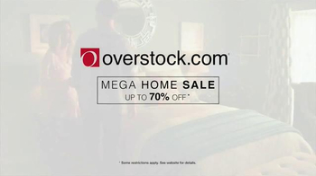 Overstock.com Mega Home Sale TV Spot, 'Area Rugs and Furniture' - Thumbnail 10