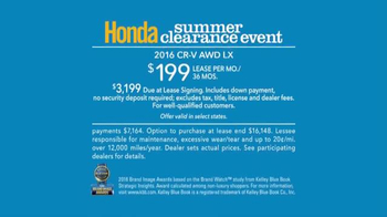 Honda Summer Clearance Event TV Spot, 'Angels' - Thumbnail 6