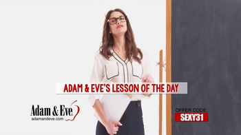 Adam & Eve TV Spot, 'Lesson of the Day' - Thumbnail 2