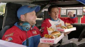 Sonic Drive-In $5 SONIC Boom Box TV Spot, 'NBC Sports: Top Drivers' - 5 commercial airings