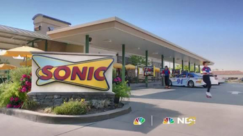 Sonic Drive-In $5 SONIC Boom Box TV Spot, 'NBC Sports: Top Drivers' - Thumbnail 1