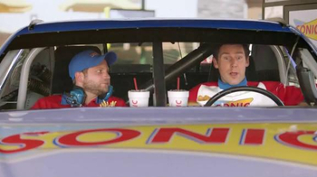 Sonic Drive-In $5 SONIC Boom Box TV Spot, 'NBC Sports: Top Drivers' - Thumbnail 3