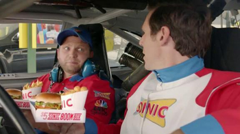 Sonic Drive-In $5 SONIC Boom Box TV Spot, 'NBC Sports: Top Drivers' - Thumbnail 4