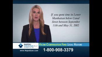 Napoli Shkolnik PLLC TV Spot, 'Federal Victim Compensation Fund'
