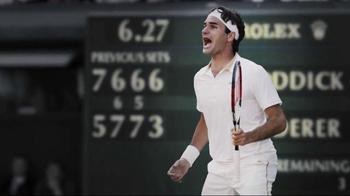 Rolex TV Spot, 'Tennis History' - Thumbnail 5