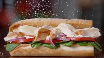 Subway Chicken Caesar Melt TV Spot, 'Better Sandwich' - 4315 commercial airings