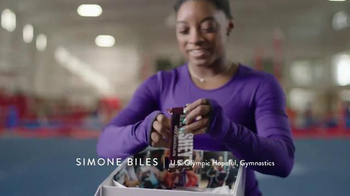 Hershey's TV Spot, 'Hello From Home' Featuring Simone Biles - Thumbnail 2