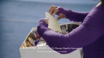 Hershey's TV Spot, 'Hello From Home' Featuring Simone Biles - Thumbnail 4
