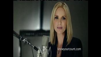 AAFA TV Spot, 'Know Your Count' Featuring Kristin Chenoweth - Thumbnail 7