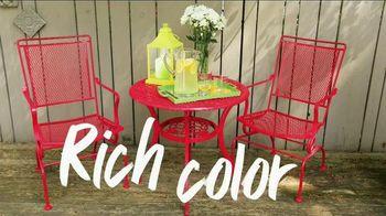 Krylon TV Spot, 'TLC Channel: Rich Color'