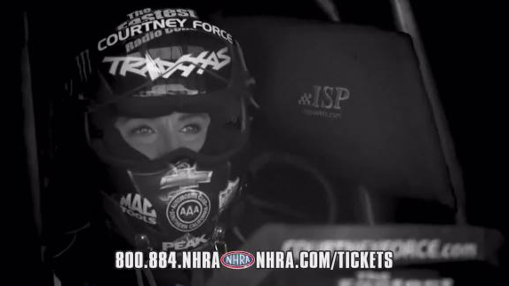 NHRA TV Commercial, 'Toyota, Northwest and Lucas Oil Nationals'