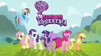 My Little Pony Explore Equestria Friendship Express Train TV Spot, 'Magic'