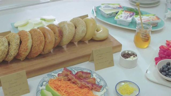 Arla Cream Cheese TV Spot, 'Bagel Bar'