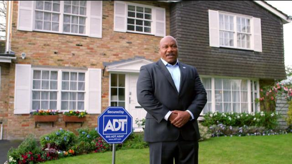 ADT TV Commercial, 'Trouble Shows Up' Featuring Ving Rhames