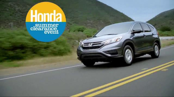Honda Summer Clearance Event TV Spot, 'Incredible Deals' - Thumbnail 8