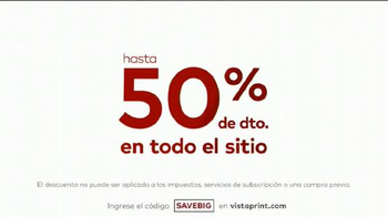 Vistaprint Ofertas de Media Temporada TV Spot, 'Gigante' [Spanish] - Thumbnail 6