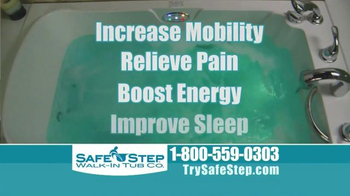 Safe Step Walk-In Tub TV Spot, 'Improved Hydrotherapy' - Thumbnail 10