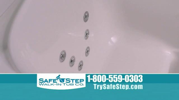 Safe Step Walk-In Tub TV Spot, 'Improved Hydrotherapy' - Thumbnail 7