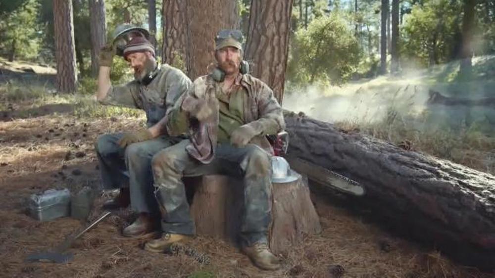 Dr. Scholl's Massaging Gel Work Insoles TV Commercial, 'Lumberjacks'