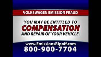 The Driscoll Firm TV Spot, 'Emission Fraud'